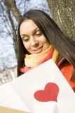 Love mail Royalty Free Stock Photography