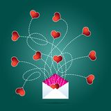 Love Mail Royalty Free Stock Image