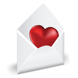 Love mail. Royalty Free Stock Photography