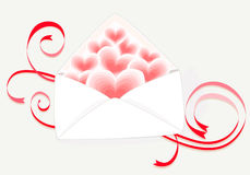 Love Mail Stock Photography