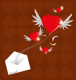 Love Mail Royalty Free Stock Photos