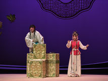 "Love make fun of the boy-Kunqu Opera ""the West Chamber"" Royalty Free Stock Photo"