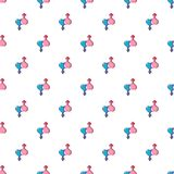 Love male and female pattern seamless Royalty Free Stock Images