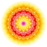 Love Mandala 01 - Flowering Of The Heart Royalty Free Stock Photos