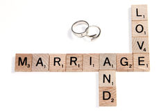 Love and Marriage Stock Images