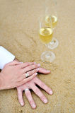 Love marriage Stock Images