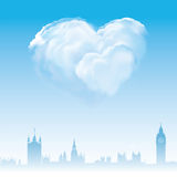 Love and marriage in London Royalty Free Stock Photo