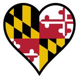 Love Maryland Royalty Free Stock Images