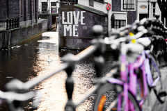 Love Me Amsterdam Stock Photography
