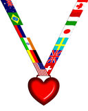 Love medal Royalty Free Stock Image