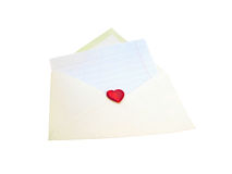 The love message Royalty Free Stock Image