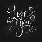Love message Royalty Free Stock Image