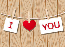 Love message Stock Photos
