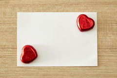 Love message or invitation Royalty Free Stock Photo