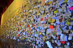 Love messages wall in Verona Royalty Free Stock Photos