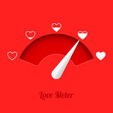 Love meter Stock Images