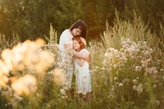 Love mom and daughter. family, child and parenthood concept royalty free stock photo