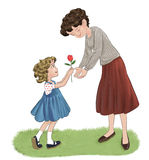 Love mom Stock Images