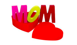 Love mom Royalty Free Stock Images