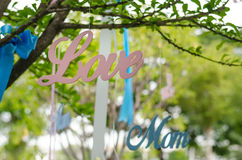 Love Mom-02 Stock Image