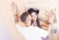 Love moments together Royalty Free Stock Photos