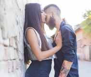 Love moments together Royalty Free Stock Images