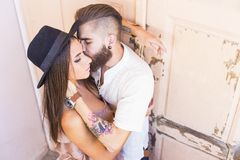 Love moments together Royalty Free Stock Photo