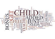 For The Love Of Mommy Text Background  Word Cloud Concept Royalty Free Stock Image