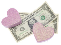 Love or Money Stock Photos