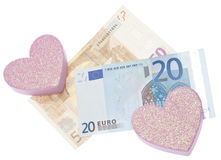 Love or Money Royalty Free Stock Images