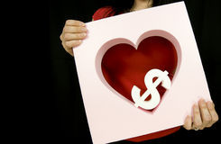 Love money Royalty Free Stock Image