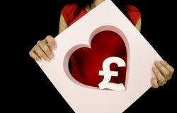 Love money Royalty Free Stock Photo