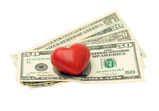 Love money Royalty Free Stock Photo