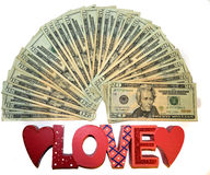 For the Love of Money Royalty Free Stock Photography