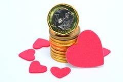 Love money Royalty Free Stock Photos