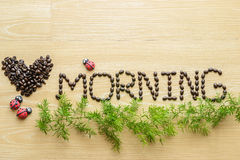 Love morning Royalty Free Stock Images