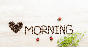 Love morning Royalty Free Stock Photos