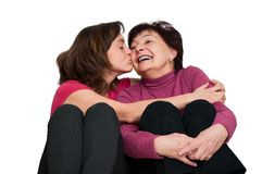 Love - mother and daughter Stock Image