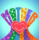 Love of a mother Stock Photos