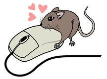 Love mouses Royalty Free Stock Photo