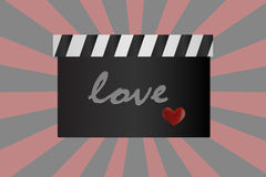 Love moviel background Royalty Free Stock Photo