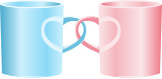 Love mug Royalty Free Stock Photography