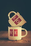 Love Mugs Stock Image