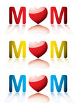 Love mum collection Royalty Free Stock Photo