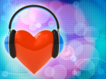 Love music Royalty Free Stock Photography