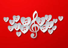 Love Music Concept Design Stock Photography
