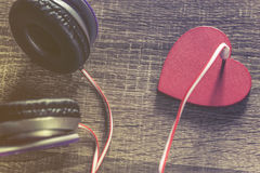 Love and music concept Royalty Free Stock Photo