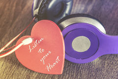 Love music concept Stock Images