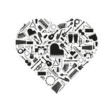 Love of Music Concept Vector Illustration Stock Photo