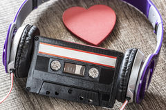 Love music concept Royalty Free Stock Images